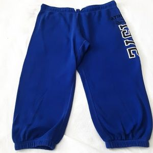 Nike The Athletic Dept. Blue Capri Sweatpants M